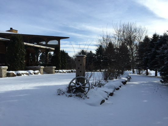 Winter View at Wisconsin Vacations rental
