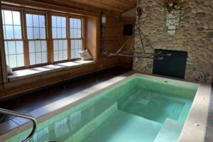Adeline's House of Cool 20-foot hot tub