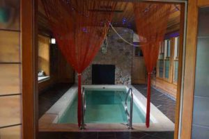 Adeline's House of Cool Indoor 20-foot hot tub