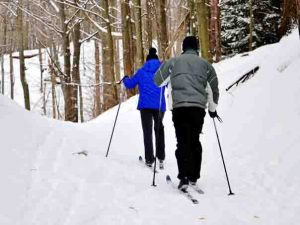 Wisconsin winter vacations cross country skiing