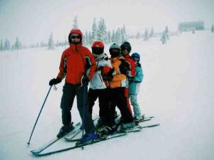 WIsconsin winter vacations downhill skiing