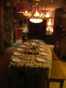 First Floor Dining Table