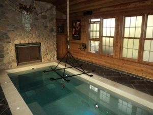 Frist Floor Hot Tub